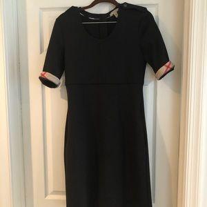 Burberry Wool Blend Black Dress